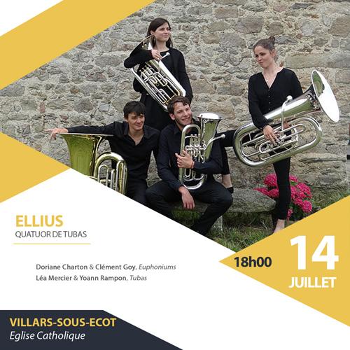 Ellius le 14 juillet à Vllars-sous-Ecot